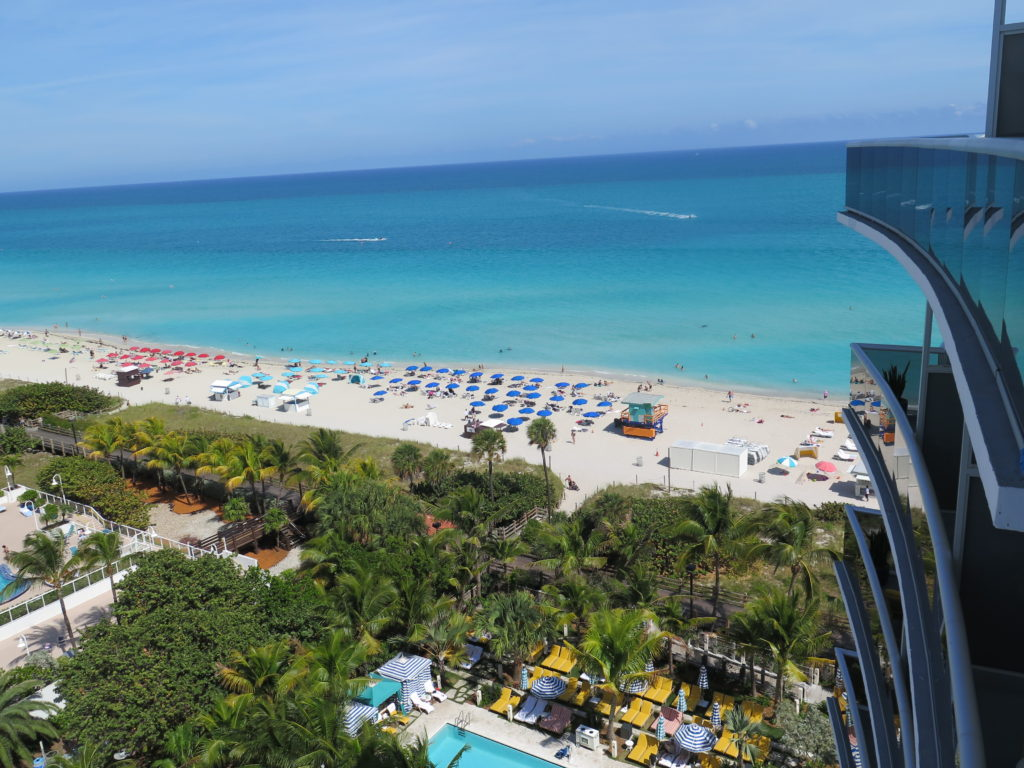 vista da suíte Thompon Miami Beach