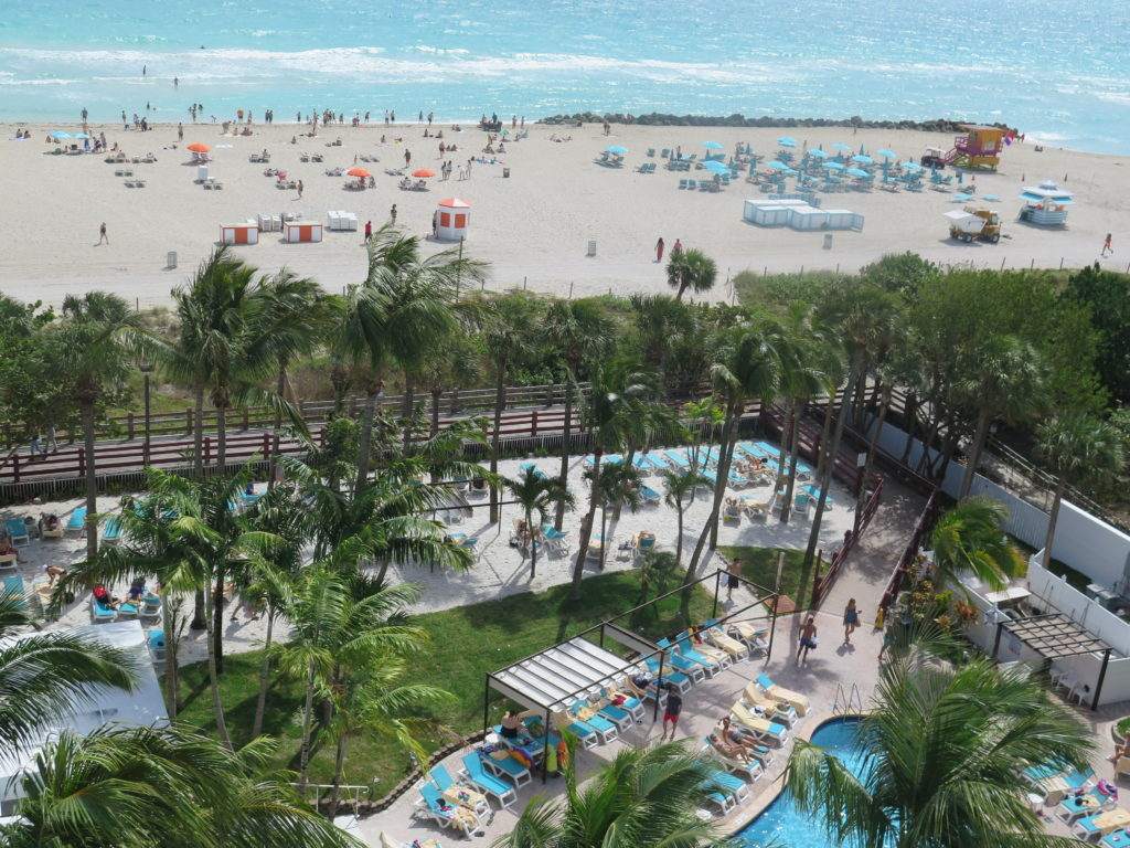 Piscina do Hotel Riu