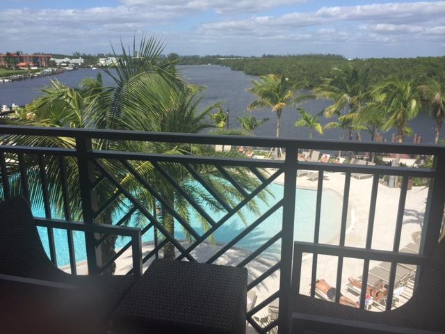 A linda vista do hotel para os canais - Ana Paula Garrido