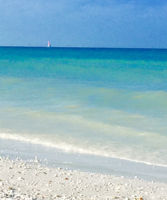 As lindas cores de Marco Island - foto Ana Paula Garrido