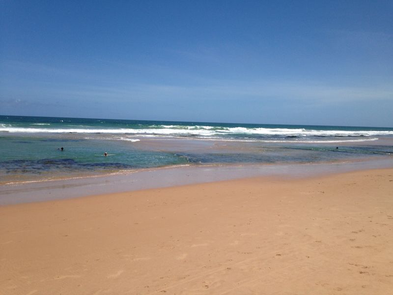 praias quase desertas