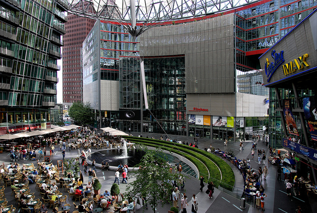 Sony-Center @visitberlin foto: Wolfgang Scholvien