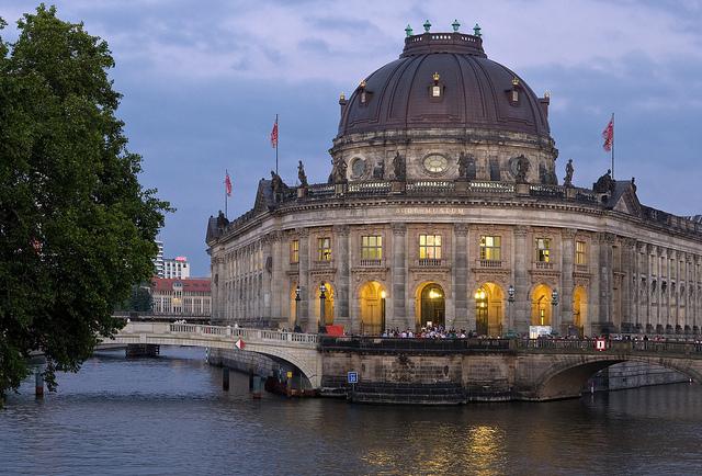 A Ilha dos Museus @visitberlin foto: Wolfgang Scholvien