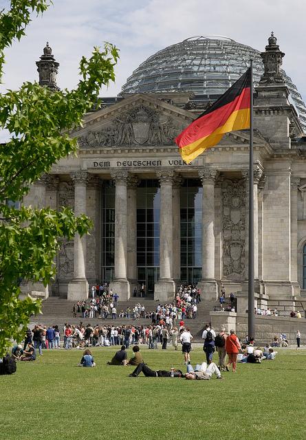 Reichstag - O Parlamento @visitbelin foto: Wolfgang Scholvien