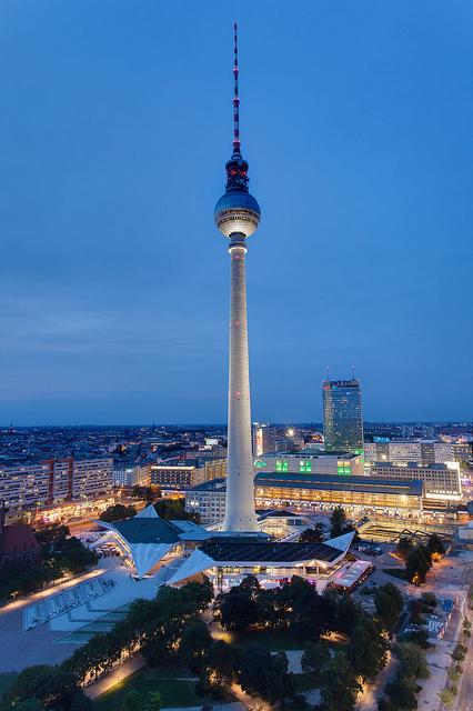 A torre da TV @visitberlin foto: Wolfgang Scholvien