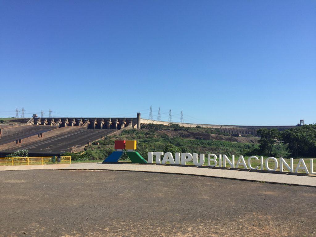 O complexo de Itaipu - foto Ana Paula Garrido