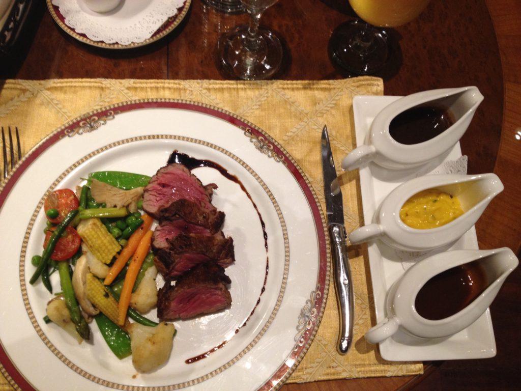 Jantar sofisticado na capital