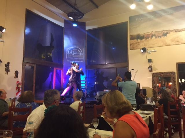 Churrasco e tango na Argentina