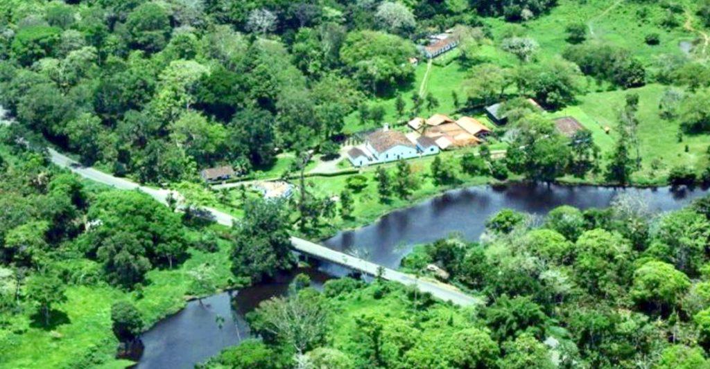 Vista aérea da Fazenda Provisão   foto @jose nazal
